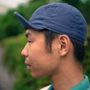 TCB40's CAP SMORKY BLUE CANVAS
