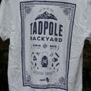 TADPOLE backyard TEE!!white