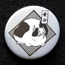 金谷ネコバッジ/銀鼠(ぎんねずみ)