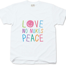 "No Nukes T-shirt ""Colours"""