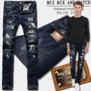 D&G新作 ドルチェ&ガッバーナデニムパンツ メンズジーンズ