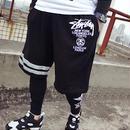 ステューシーカジュアルパンツ スポーツ半ズボン メンズ