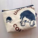 布ポーチS:ビーグル犬Baby Buddy  PS008