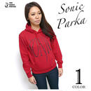 2weekセール☆ a02pk - SONIC スウェット パーカー - LPR -G- ロック ソニック ミュージック ROCK Parka プルオーバー