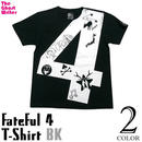 tgw024tee-bk - fateful 4 Tシャツ(ブラック) - The Ghost Writer -G- ( UK NY パンク ロックTシャツ オリジナル )