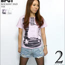 bk003tee - Rocker? 2nd Tシャツ - BPGT -G- ロッカー ロックTシャツ バンドT ギター柄 半袖
