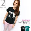 tgw011tee - Last Party 1『Pistol』Tシャツ -G-( グラフィック パンク ロックTee )