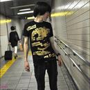 hw004tee - Happiness(ハピネス)Tシャツ -G- 半袖 PUNK ROCK パンク ロックTシャツ