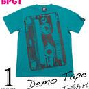 bk001tee - Demo Tape(デモテープ)Tシャツ - BPGT -G-