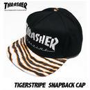 sq11636 - TIGERSTRIPE タイガーストライプ スナップバック キャップ - THRASHER - スラッシャー -G-( SNAPBACK CAP スケーター エクストリーム 帽子 )