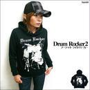 ☆特別プライス☆ sp045pk - Drum Rocker2 フーデット ライトパーカー -G- ドラム ロック スウェット アメカ ジ メンズ レディース