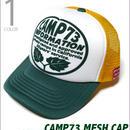 cap5954 - CAMP73 メッシュキャップ -R- アメカジ カジュアルCAP 帽子 配色カラー
