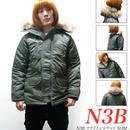 冬セール☆ af-n3b - N3B フライトジャケット SLIM -G-( 防寒 中綿ブルゾン ミリタリー アウター )
