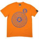sp004tee-or - Bambi World Tour Tシャツ (オレンジ)-G- 半袖 ワールドツアー ロックバンドTシャツ アメカジ 蜜柑色