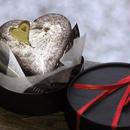 ハートのガトーショコラ(バレンタイン仕様)