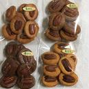 まるごとペカン大豆粉クッキー(プレーン・ココア・シナモン・キャラメルコーヒー)4種セット