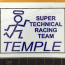SUPER TECHNICAL RACING miniステッカー