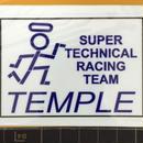 SUPER TECHNICAL RACING miniステッカー
