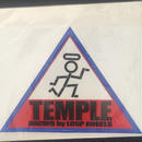 TEMPLE トライアングルステッカー 《大》
