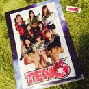 TEN6♡ステッカー付きクリアファイル