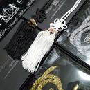 JPジャンクションプロデュース★白ふさか黒ふさのみ★ラグジュアリーミラーアクセサリー セット