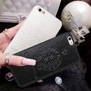 iPhone6/6s スマホケース ブラック 最新作【ChromeHearts】クロムハーツ好きに!