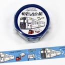 JR九州列車マスキングテープ 指宿のたまて箱 【TA008】