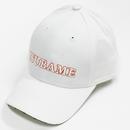 九州新幹線800系つばめ-TSUBAMEロゴ(白×オレンジ)白キャップ 【TE023】