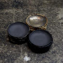 REVIVE LEATHER ROUND ASH TRAY