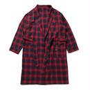 430 | CHECK SHIRTS COAT (RED)
