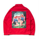 SON OF THE CHEESE | BB COACH JACKET (RED)