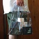 NEW JACK BOOGIE | Vinyl Azuma bag(SMALL) Clear