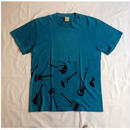 USED (古着)A.P.C. Tシャツ(ターコイズブルー)