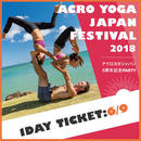 ACRO YOGA FESTIVAL 20180609 1 DAY パス