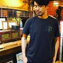 ZVON LOGO T-Shirt 【野晒しのマリア】-LIGHT BLACK-CSF-CT-005