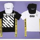 オフホワイトリボンTシャツ☆kids