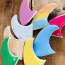 wood resin fin(broach)