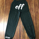 off SWEAT PANTS   P003  【DG】