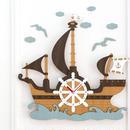【ハンドメイド】ウォールクロック - SEA TRAVEL