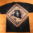 jerry garcia captain trips tie dye Tshirt gratefuldead