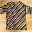 メンズ エスニックTシャツ purple