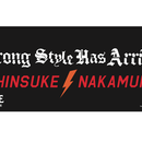 "<日本限定>中邑真輔 X NINE RULAZ ""Strong Style Has Arrived"" Towel(black)"