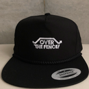 OVER THE FENCE スナップバック(BLACK)