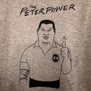 "[五木田智央]""THE PETER POWER"" Parka (heather-gray)"