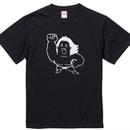 "長州力""POWERHALL"" tee-shirt(black)"