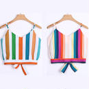 TA-012 Multicolored Short Tops