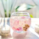 flowers pink キャンドルホルダー&ティーライトキャンドル8個