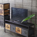 IRON WOODEN TV BOARD