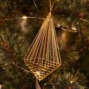 Wire Ornament Streak Square