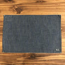 Grandad Check Place Mat / Indigo Check (D)